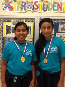 Engineering Champions: Angela Campos and Alexis Guerrero